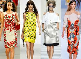 Модные тренды на весну-лето 2012