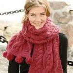 Как можно носить шарф