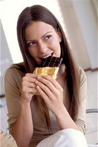 Темный шоколад используют в диетах